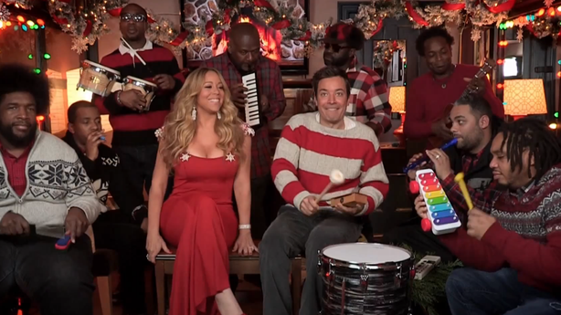 All We Want for Christmas Is Jimmy Fallon and Mariah Carey Singing to Us