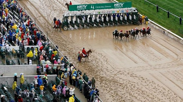 Police investigate body found at Kentucky Derby