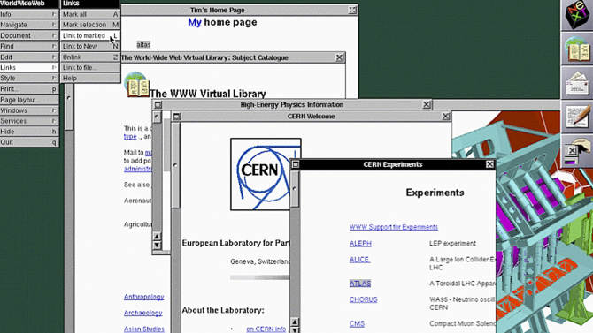 Search for 1st Web page takes detour into NC
