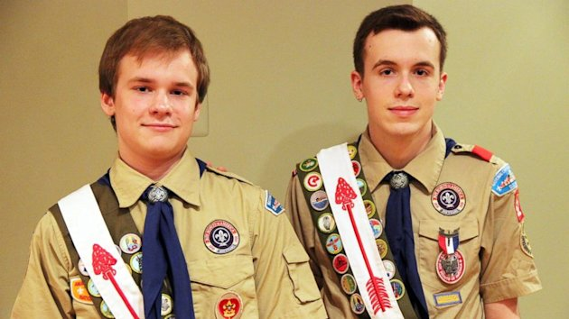 First Openly Gay Eagle Scout Under New Policy, But Brother Excluded From Scouting (ABC News)