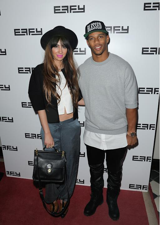 Adrienne Bailon Hosts Effy Jewelry's 35th Anniversary Party - Arrivals - Fall 2014 Mercedes - Benz Fashion Week