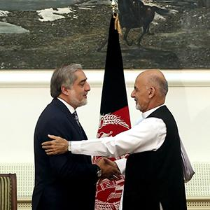 New Afghan President With Power-Sharing Deal