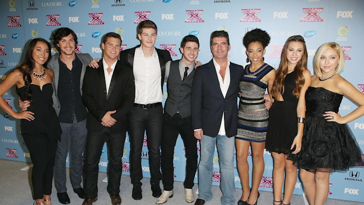 "Fox's ""The X Factor"" Finalists Party"