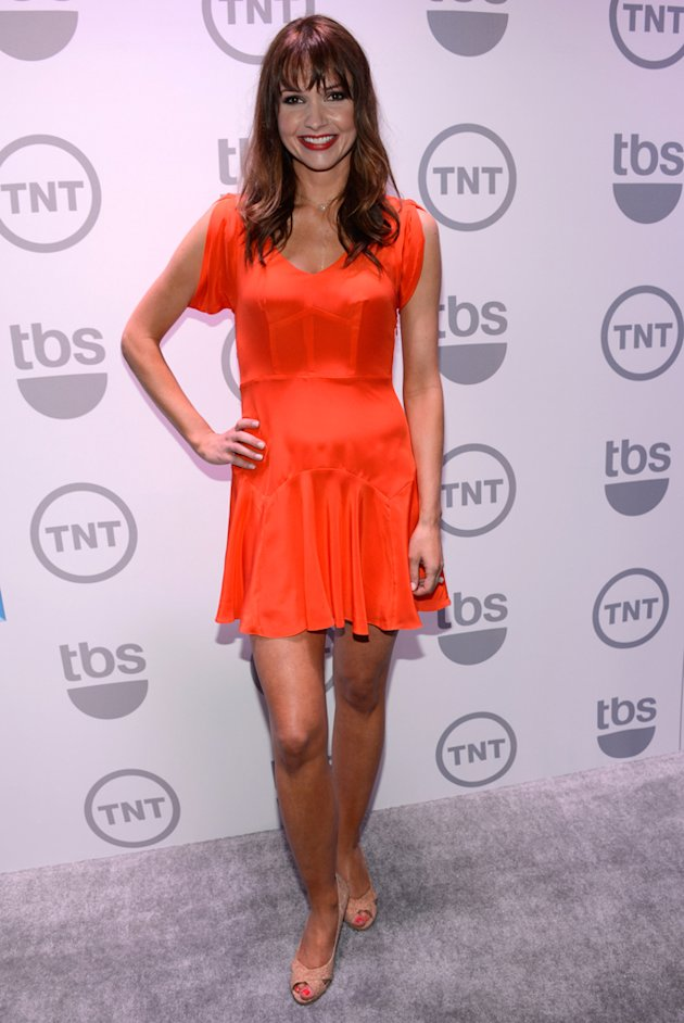 Valerie Azlynn attends the TNT/TBS 2012 Upfront