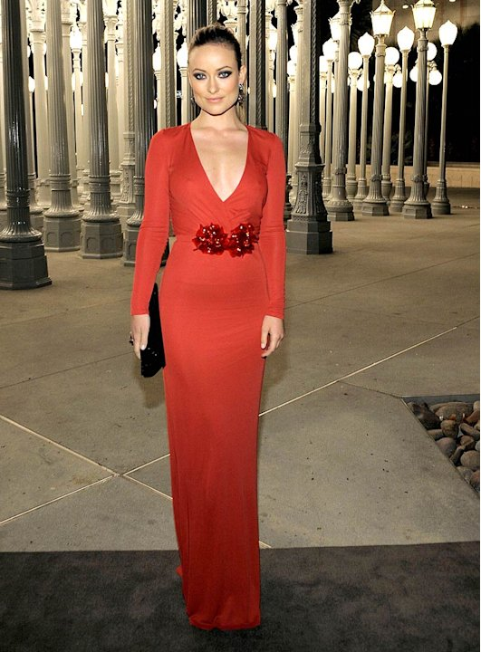 Olivia Wilde Gucci Event AtLACMA