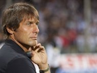"Juventus Turin's coach Antonio Conte (seen in Salerno on August 4) on Thursday hit out at one of the judges who decided to uphold his ten-month ban from football for failing to report suspicions of match-fixing at a previous club. ""There is one judge who bears a grudge against me as if he were a rival supporter,"" Conte said at a press conference in Turin"