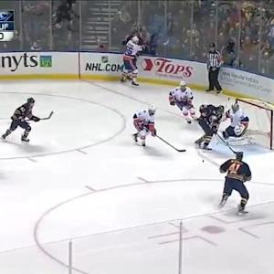 Kevin Poulin Save on Matt Moulson (01:53/1st)