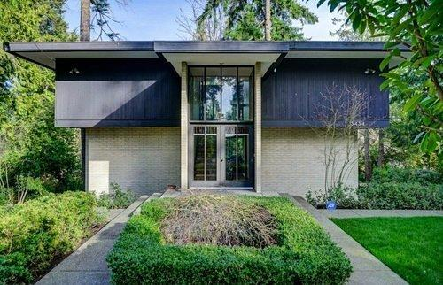 Curbed Seattle: Pedigreed Midcentury Modern in Seattle Won 'Home of the Year' in 1964