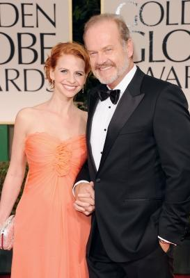 Kelsey Grammer and Kayte Walsh arrive at the 69th Annual Golden Globe Awards held at the Beverly Hilton Hotel in Beverly Hills, Calif. on January 15, 2012  -- Getty Images