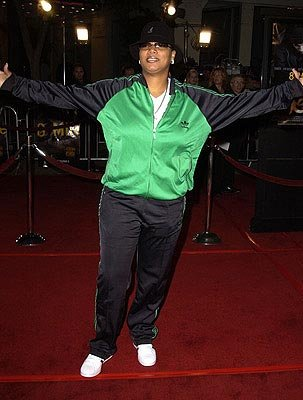 Queen Latifah at the LA premiere of Universal's 8 Mile