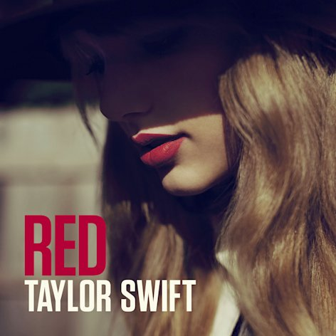 "This CD cover image released by Big Machine Records shows the latest album by Taylor Swift, ""Red."" (AP Photo/Big Machine Records)"