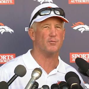 Denver Broncos head coach John Fox recaps first full practice of camp