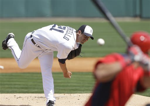 Porcello throws 5 shutout innings, Tigers top Nats