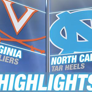 Virginia vs North Carolina | 2014-15 ACC Women's Basketball Highlights