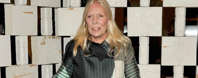 Folk music icon Joni Mitchell hospitalized