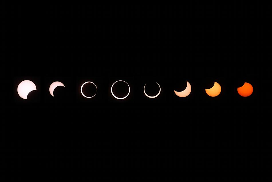 Annular Solar Eclipse Observed In California