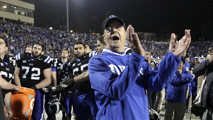 Duke's Cutcliffe wins Camp coach of the year award