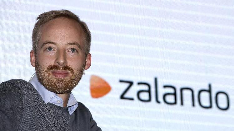 Rubin Ritter, Member of the Management Board of the fashion retailer Zalando, attends a news conference in Berlin, Germany, Thursday, Aug. 28, 2014. (AP Photo/Michael Sohn)