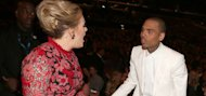 Chris Brown gets Adele tongue-lashing