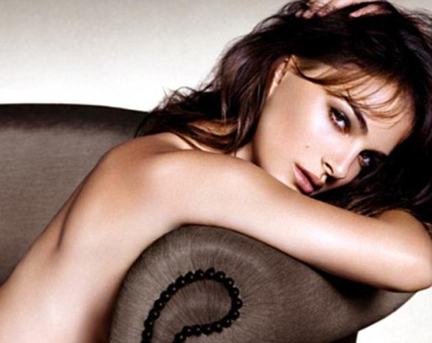Sexy celebrity ad campaigns: Natalie Portman posed provocatively with nothing on for the latest look for Dior. She was erm, modeling the new Rouge Dior Nude Lipcolor although it's really her smooth ba