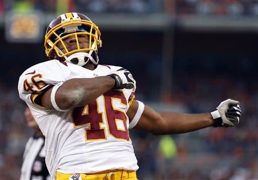 Cousins leads Redskins over Browns 38-21