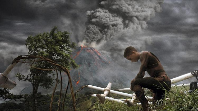 "This film publicity image released by Sony - Columbia Pictures shows Jaden Smith in a scene from ""After Earth."" (AP Photo/Sony, Columbia Pictures)"