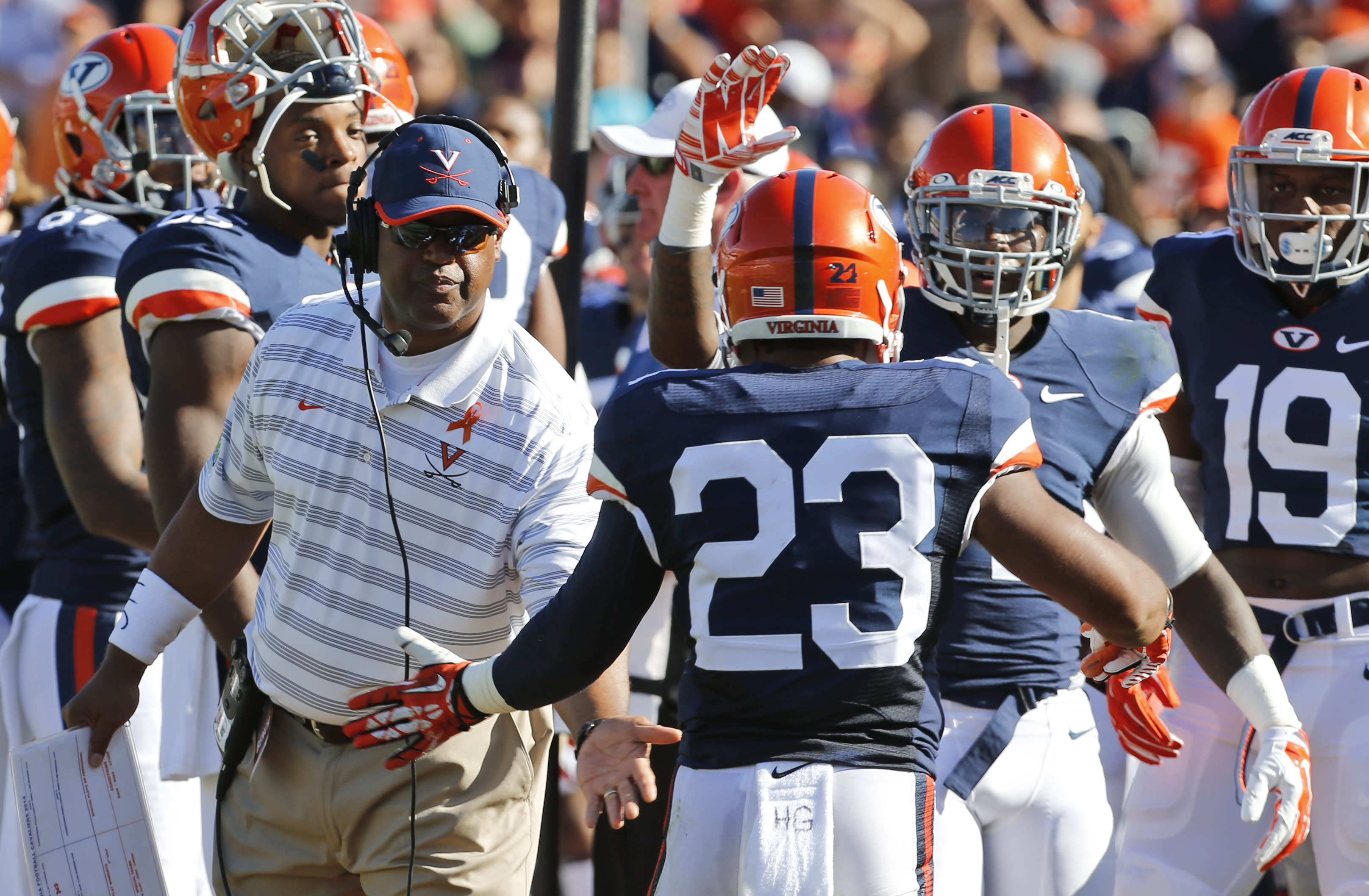 Mike London resigns at Virginia after six seasons