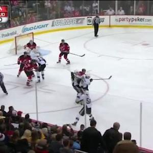 Cory Schneider Save on Kris Letang (09:25/1st)