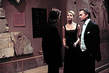 Viggo Mortensen , Gwyneth Paltrow and Michael Douglas in Warner Brothers' A Perfect Murder