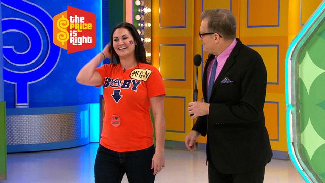 The Price Is Right - Mother-to-be Plays One Away