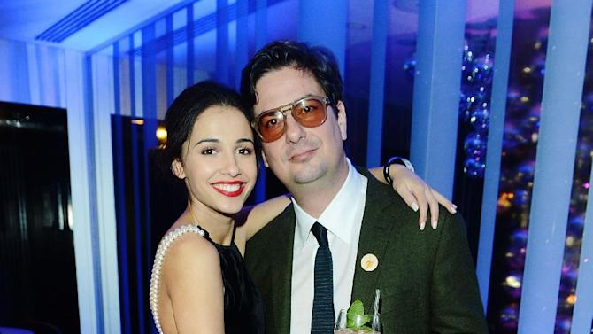 Actress Naomi Scott and director Roman Coppola seen at The Premiere of Intel & W Hotels' Four Stories on Tuesday, Nov. 27, 2012, W Hotel, London. (Photo by Jon Furniss/Invision for Intel/AP Images)