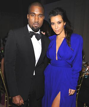 Kim Kardashian, Kanye West Brought North West to July 4th Party