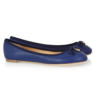 Chelsea Leather Ballet Flats Tory Burch: What To Wear: School Run: Ballet Flats