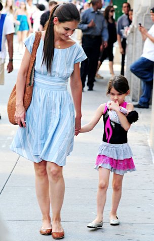 "Katie Holmes to Suri Before Tom Cruise Split: ""I Love You More Than Anything"""