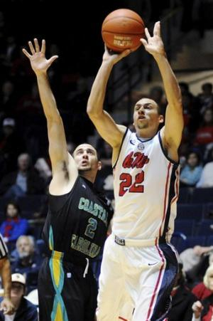 Mississippi beats Coastal Carolina 90-72