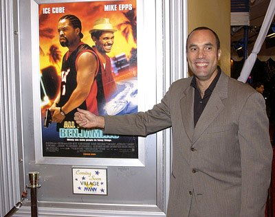 Roger Guenveur Smith at the LA premiere of All About The Benjamins