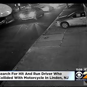 Search On for Hit-And-Run Driver Who Slammed Into Motorcycle In Linden, N.J.