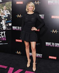 Cameron Diaz arrives at the &#39;What To Expect When You&#39;re Expecting&#39; premiere at Grauman&#39;s Chinese Theatre on May 14, 2012 in Hollywood -- FilmMagic