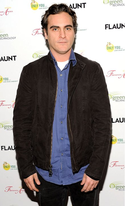 Joaquin Phoenix Flaunt Magazine Launch Party