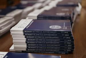 Copies of President Barack Obama's proposed budget…