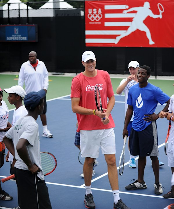 Coca-Cola And Tennis Star John Isner Serve It Up For Atlanta Teens