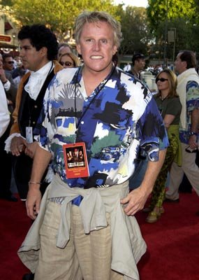 Gary Busey at the LA premiere of Walt Disney's Pirates Of The Caribbean: The Curse of the Black Pearl