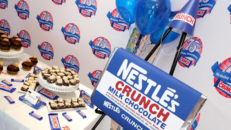 IMAGE DISTRIBUTED FOR NESTLE CRUNCH - A general view during the kick-off of the Nestle Crunch 75th Birthday Showdown at Sweet E's on Wednesday, March 27, 2013 in Los Angeles. (Photo by Casey Rodgers/Invision for Nestle Crunch/AP Images)