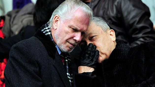 2010-11 Premier League West Ham co-owners David Gold and David Sullivan