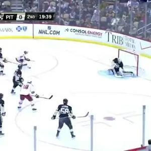 Thomas Greiss Save on Shane Doan (00:22/2nd)