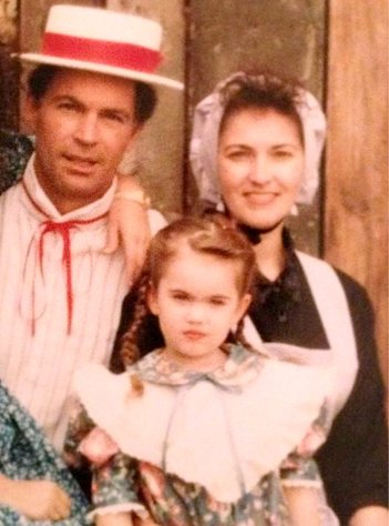 "Megan Fox Shares Funny ""Wild West"" Family Picture From Childhood"