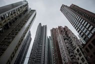 A view of high-rise residential buildings in Hong Kong, on November 26, 2012. Hong Kong&#39;s Beijing-backed leader has unveiled a raft of populist policies with an emphasis on tackling the city&#39;s housing crisis, as he aimed to hush critics&#39; repeated calls to step down