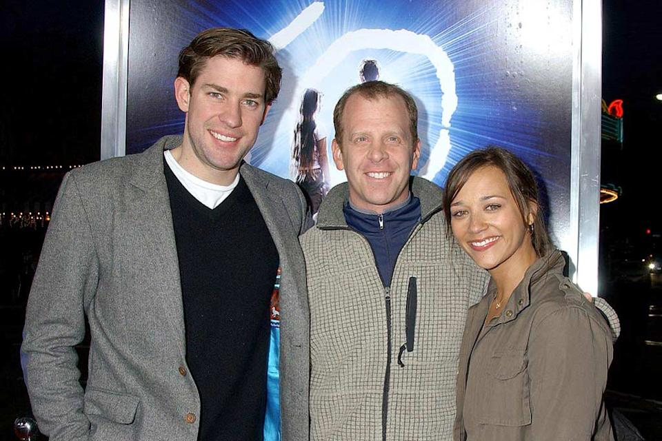 "John Krasinski , Ray Lieberstein and Rashida Jones at the ""The Last Mimzy"" Los Angeles Premiere. - March 20, 2007"