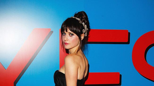 Yes Man UK premiere 2008 Zooey Deschanel