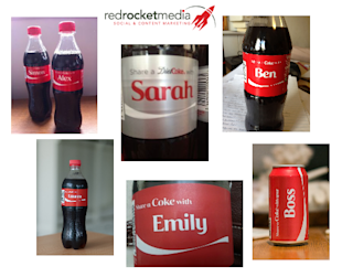 Why Coca Cola's 'Share a Coke With…' Campaign is a Stroke of Content Genius image names